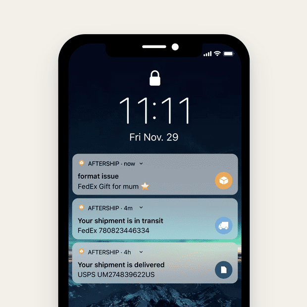 mobile app notification