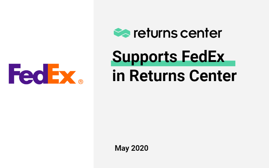 Generate FedEx labels automatically with Returns Center
