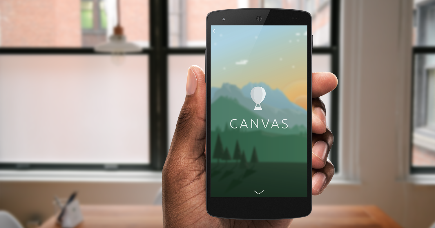 Facebook recently rolled out Canvas and you'd be silly not to try it