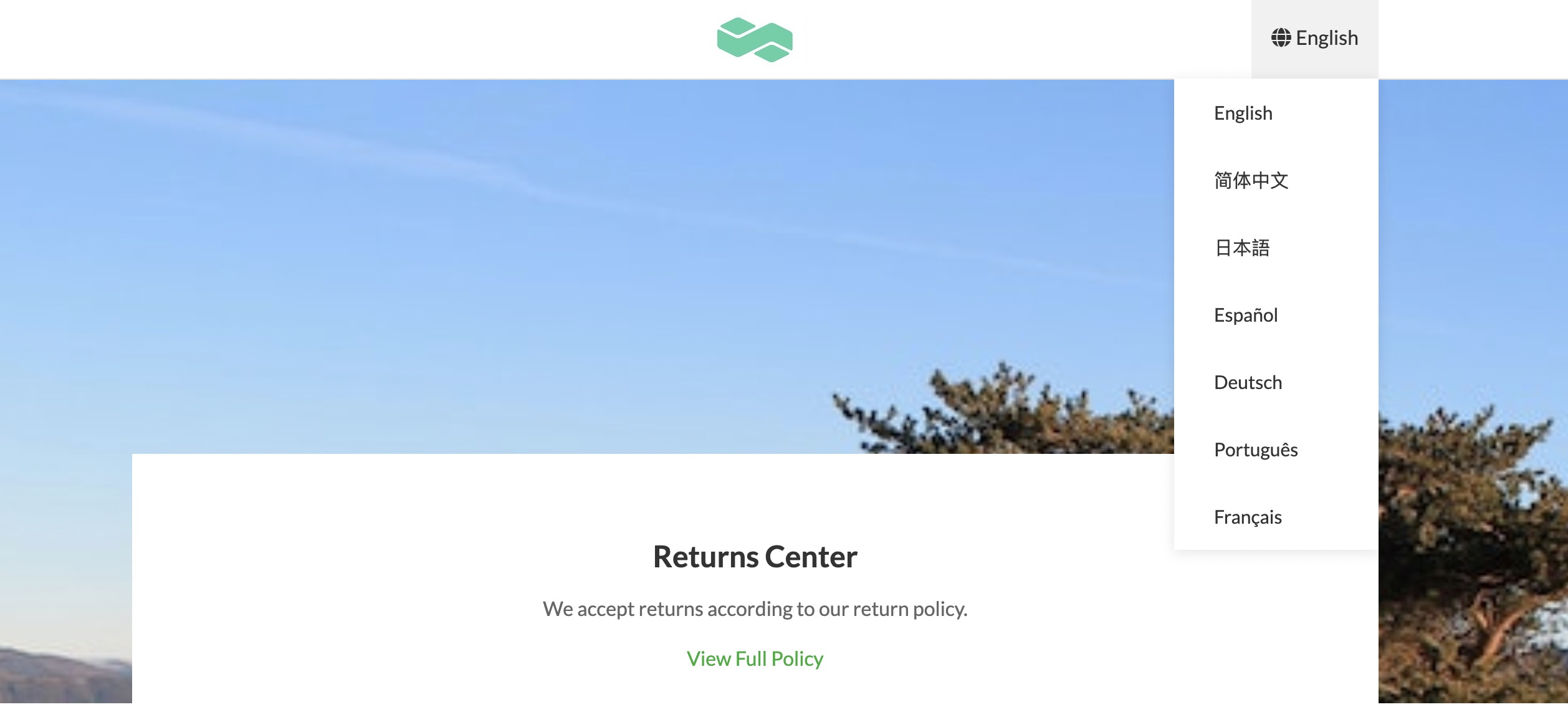 Product Update: Multi-language Branded Returns Page