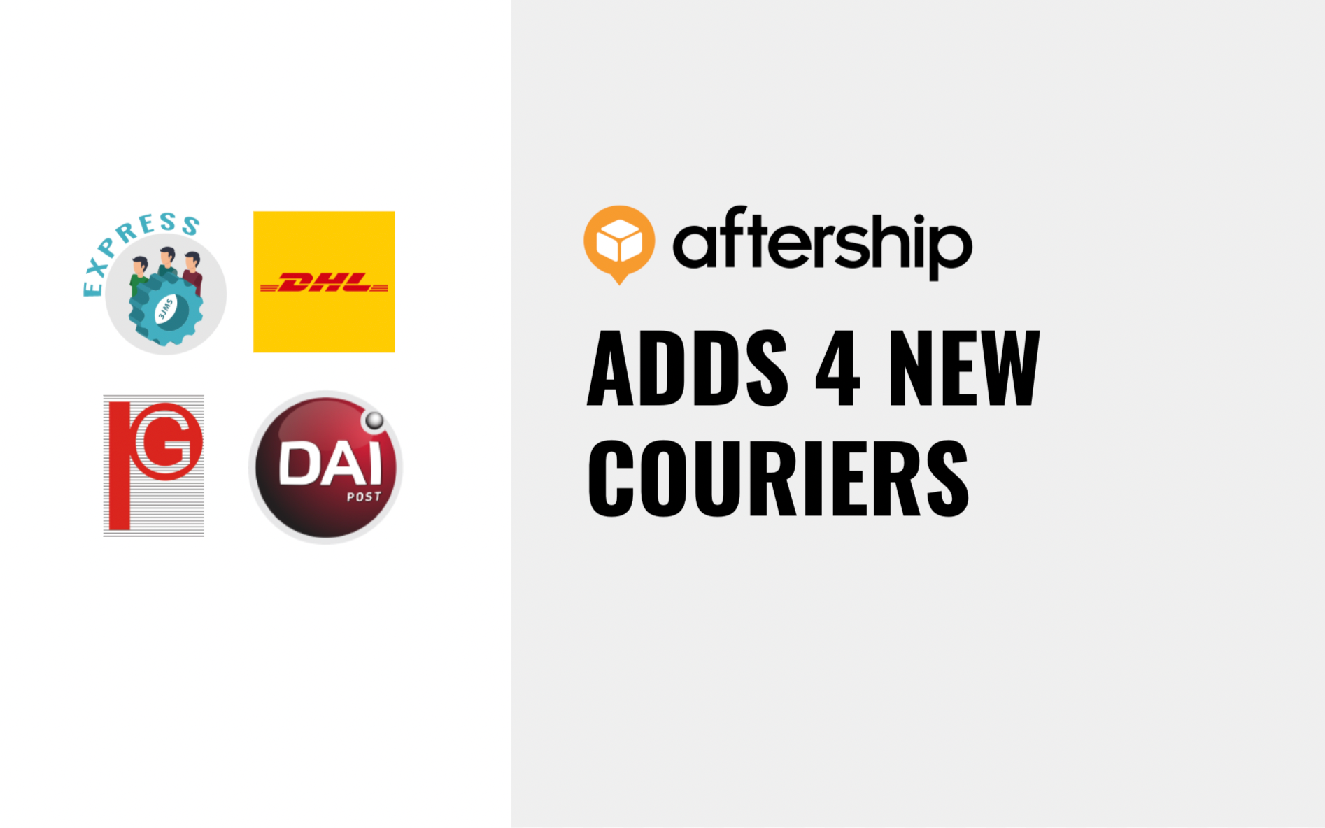 AfterShip adds 4 new couriers this week (3rd May to 14th May 2021)