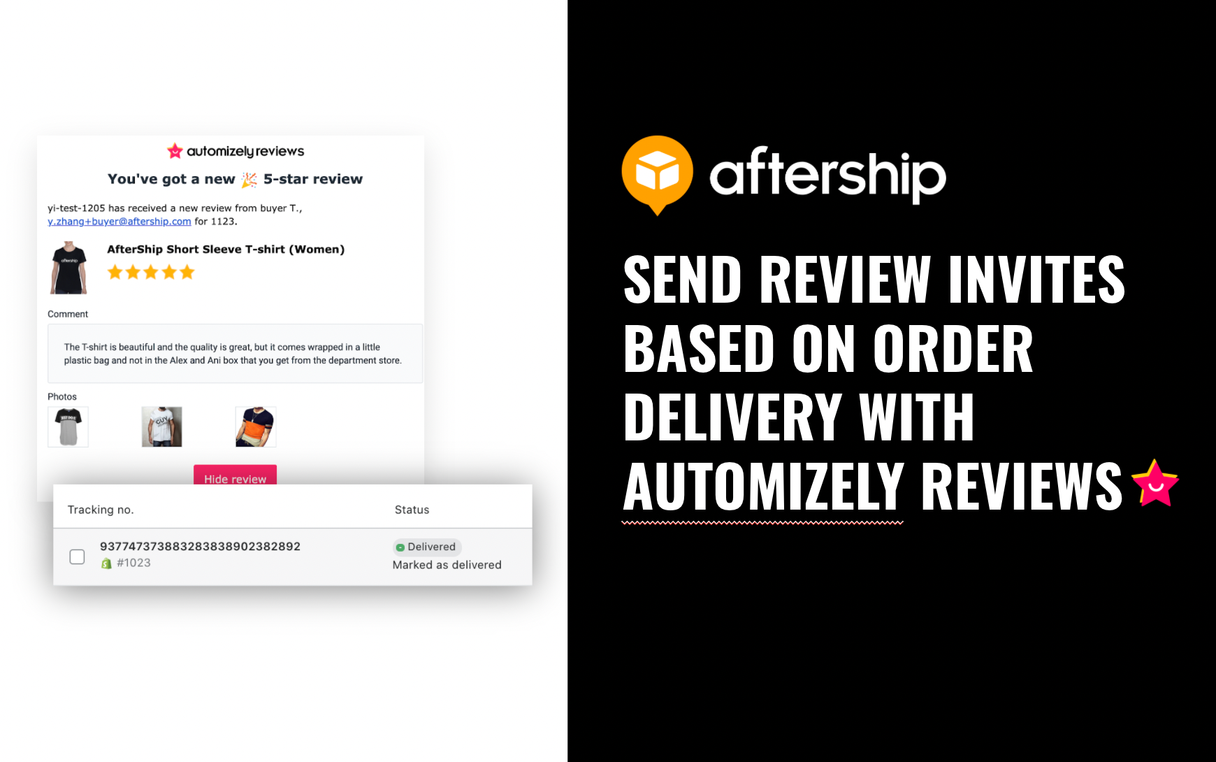 Push Review Request Emails Automatically After Delivering Orders Successfully