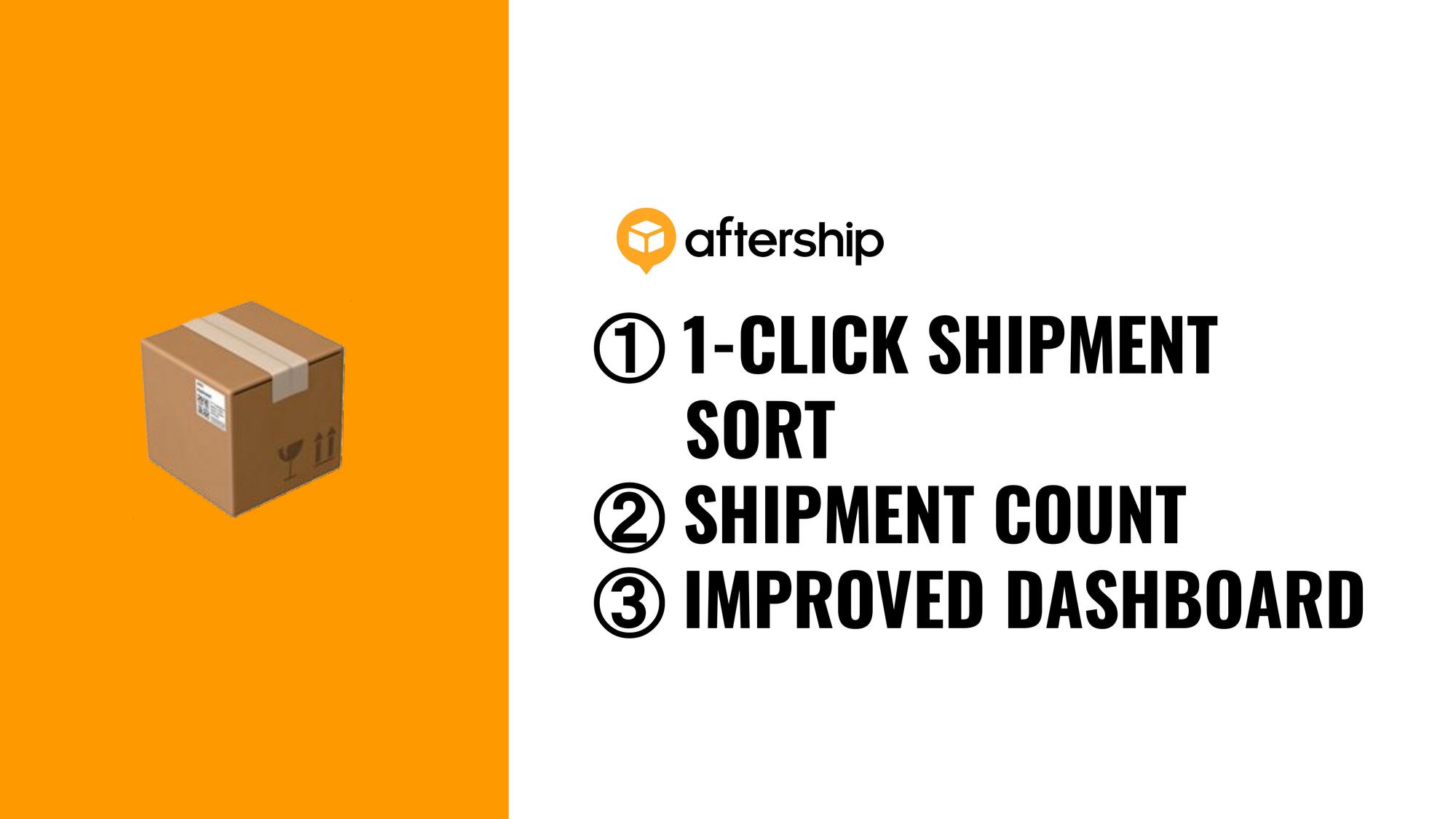 3 AfterShip updates for faster shipment management