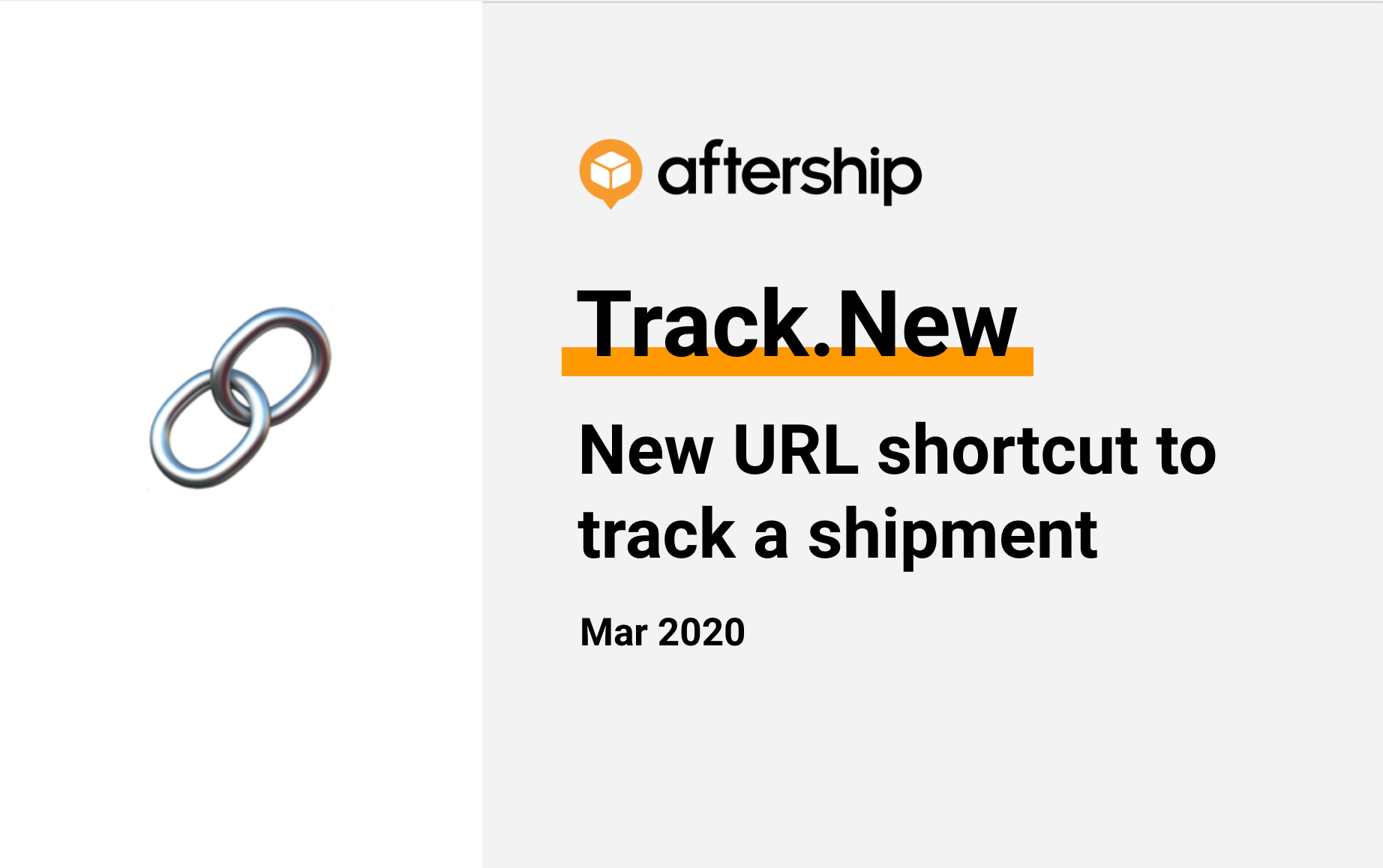 Hello to our new domain Track.New